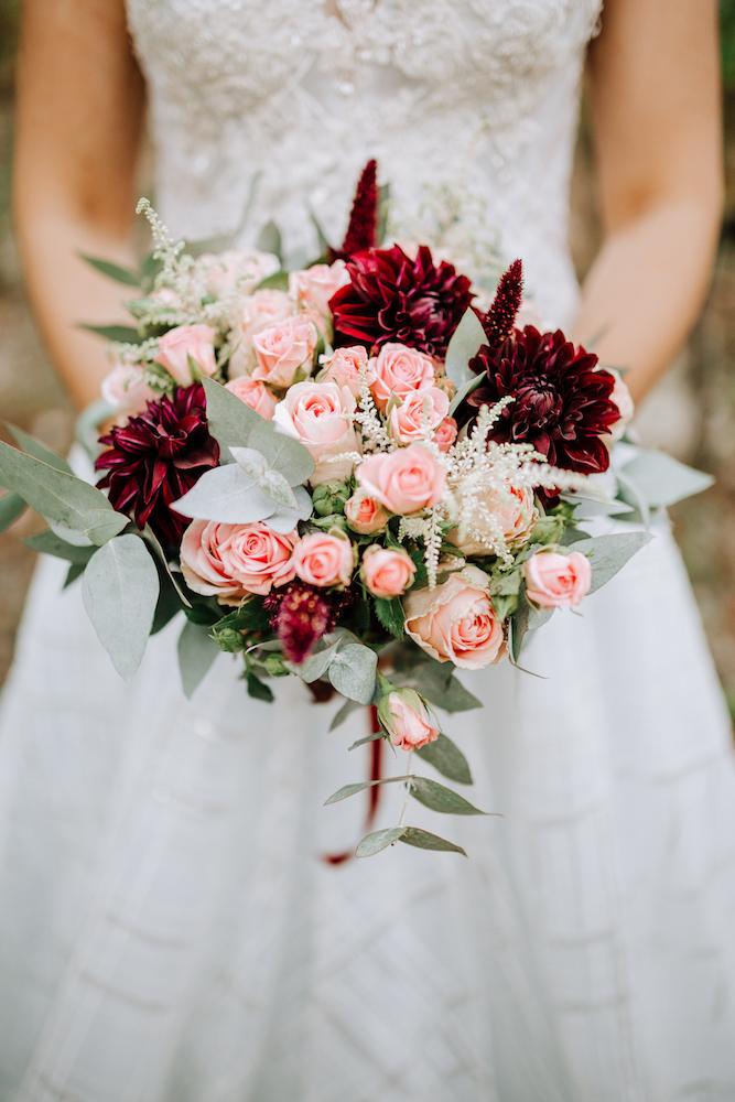 le coeur dans les etoiles - wedding planner - provence - luberon - organisation mariage - mariage automne - nicolas terraes - bouquet mariee