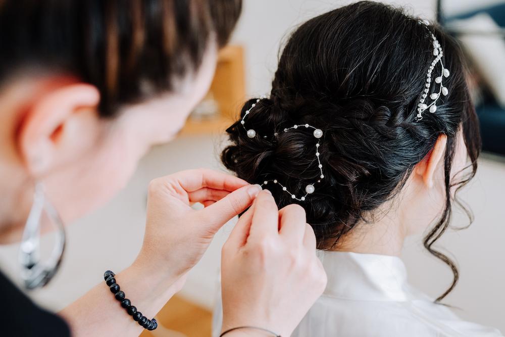 le coeur dans les etoiles - wedding planner - provence - luberon - organisation mariage - mariage automne - nicolas terraes - coiffure mariee