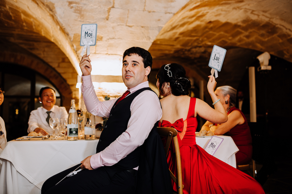 le coeur dans les etoiles - wedding planner - provence - luberon - organisation mariage - mariage automne - nicolas terraes - jeu