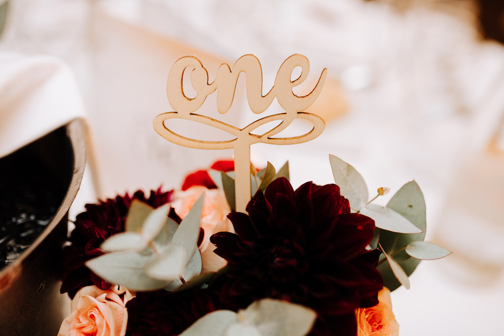 le coeur dans les etoiles - wedding planner - provence - luberon - organisation mariage - mariage automne - nicolas terraes - numero table