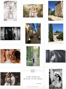 le coeur dans les etoiles - wedding planner - provence - luberon - sardaigne - organisation - mariage - instagram