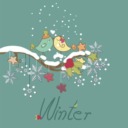 le coeur dans les etoiles - wedding planner - organisation - provence - luberon - alpilles - drome - oiseaux mariage hiver