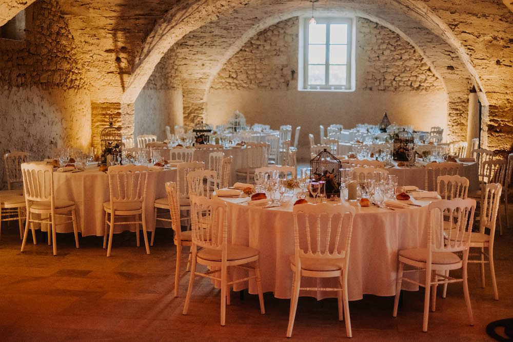 le coeur dans les etoiles - wedding planner - provence - luberon - alpilles - drome - vaucluse -organisation - mariage - domaine - salle voutee - pierres - mariage provence - valery villard