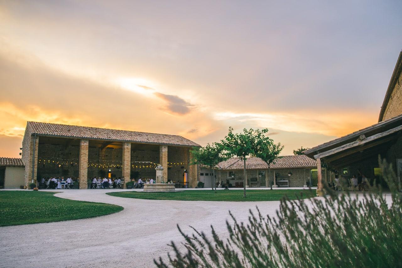 le coeur dans les etoiles - wedding planner - provence - luberon - drome - organisation provencale- sebastien cabanes - coucher de soleil