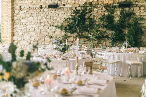 le coeur dans les etoiles - wedding planner - provence - luberon - drome - organisation provencale- sebastien cabanes - diner