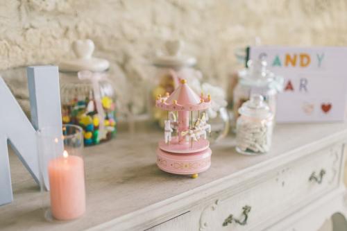 le coeur dans les etoiles - wedding planner - provence - luberon - drome provencale - organisation - sebastien cabanes - candy bar