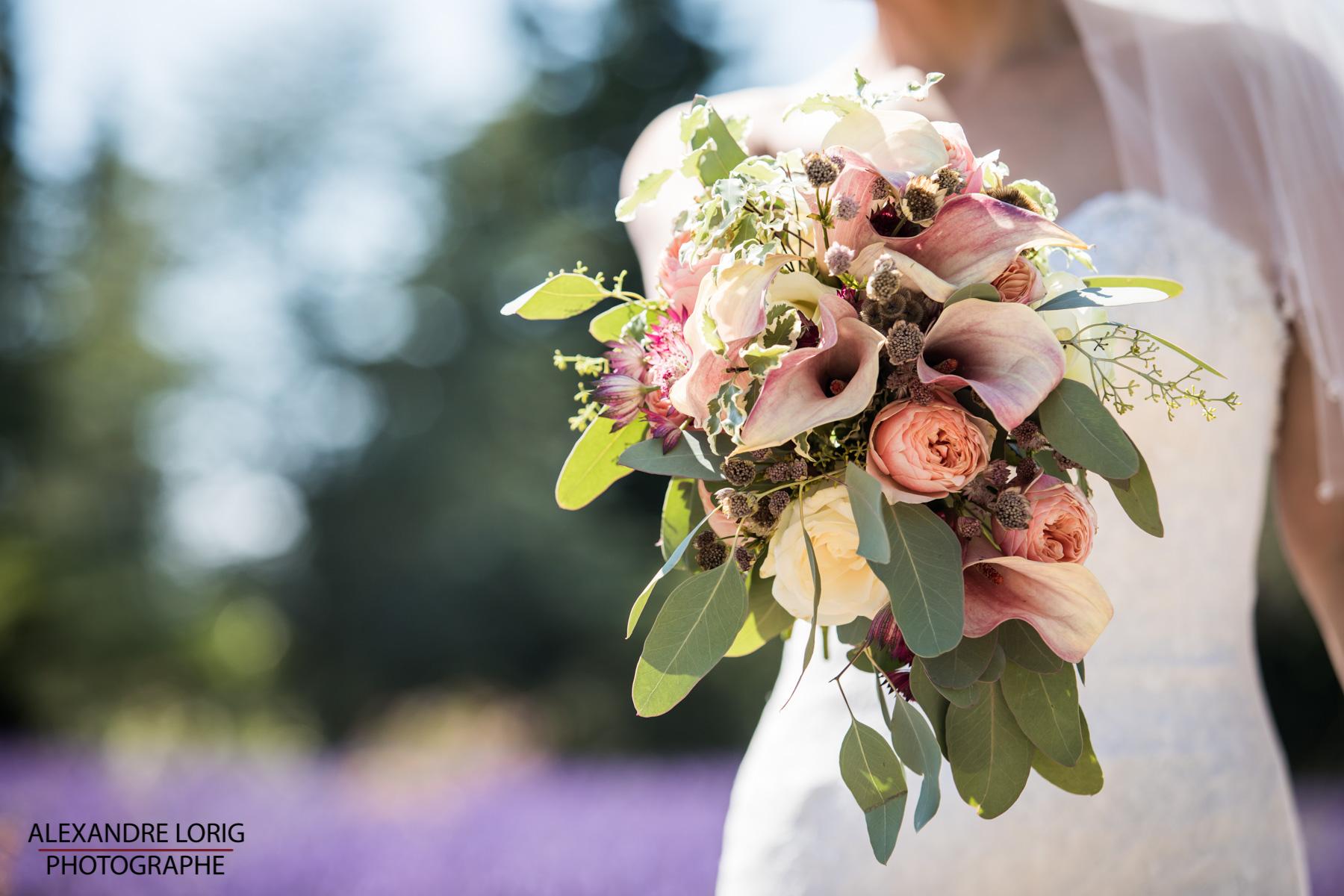 le coeur dans les etoiles - wedding planner provence - luberon - mariage provence - Alexandre Lorig - bouquet mariee