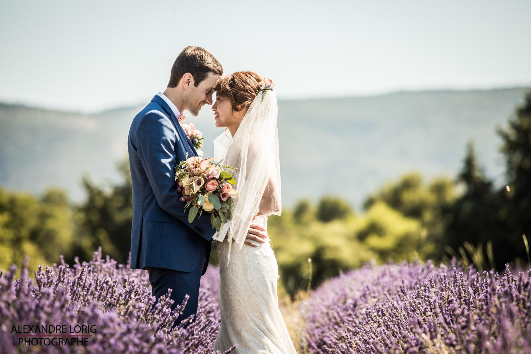 le coeur dans les etoiles - wedding planner provence - luberon - mariage provence - Alexandre Lorig - champ de lavande