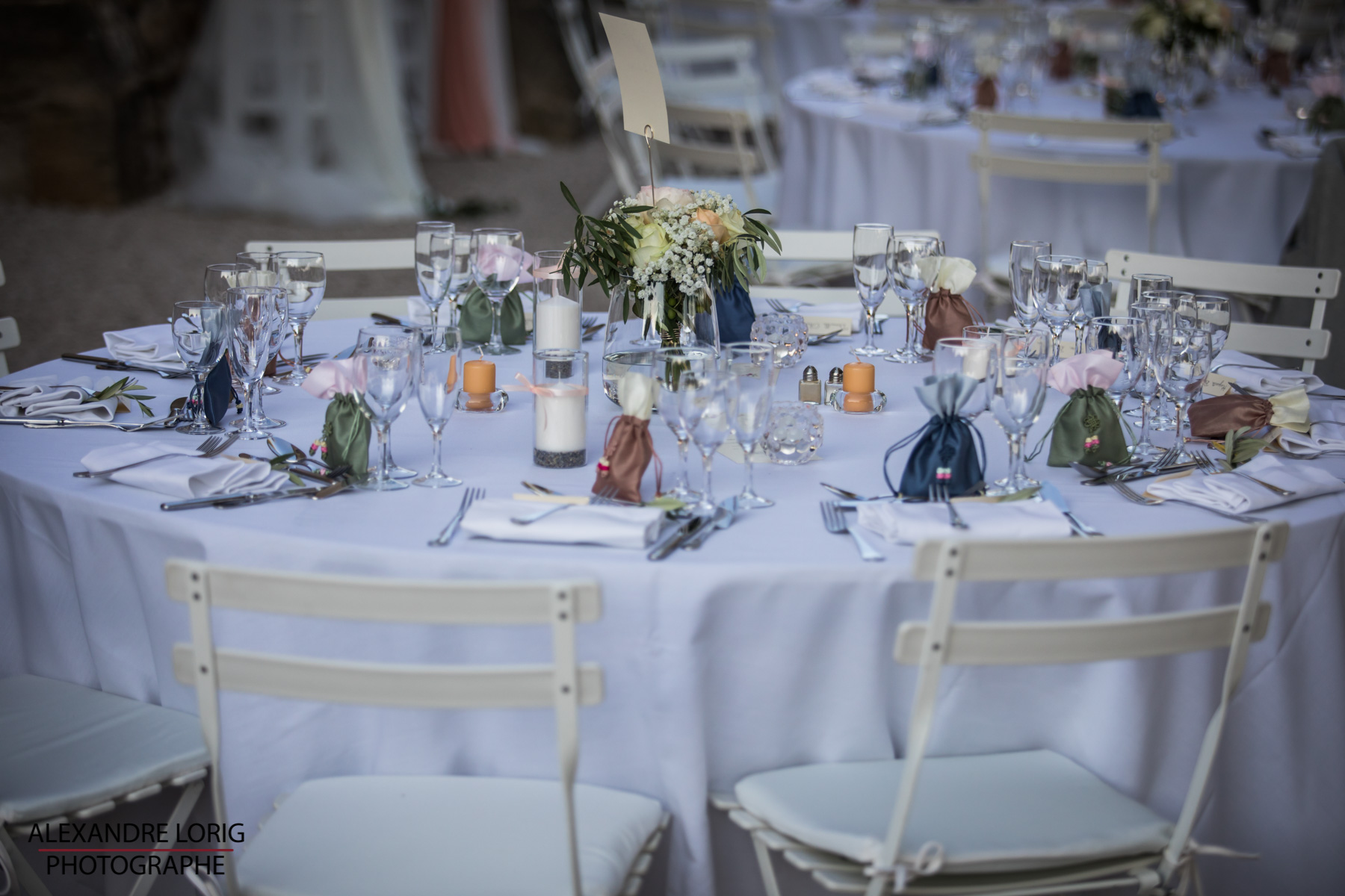 le coeur dans les etoiles - wedding planner provence - luberon - mariage provence - Alexandre Lorig - deco table