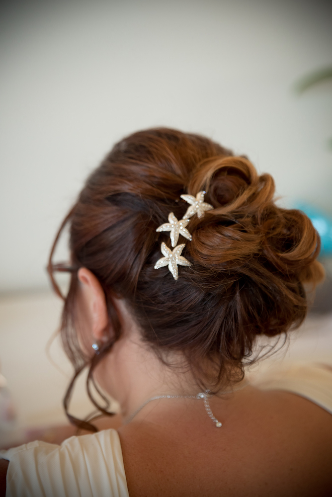 le coeur dans les etoiles - wedding planner - provence - sardaigne - mariage en sardaigne - organisation mariage - c&jn - coiffure mariee