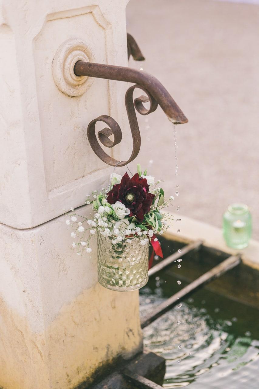 le coeur dans les etoiles - wedding planner provence - luberon - sardaigne - organisation mariage - mariage en provence - sebastien cabanes - deco fontaine