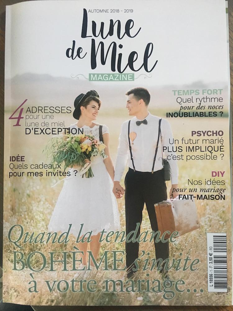 le coeur dans les etoiles - wedding planner - provence - sardaigne - luberon - organisation mariage provence - corine charbonnel - magazine - lune de miel mag