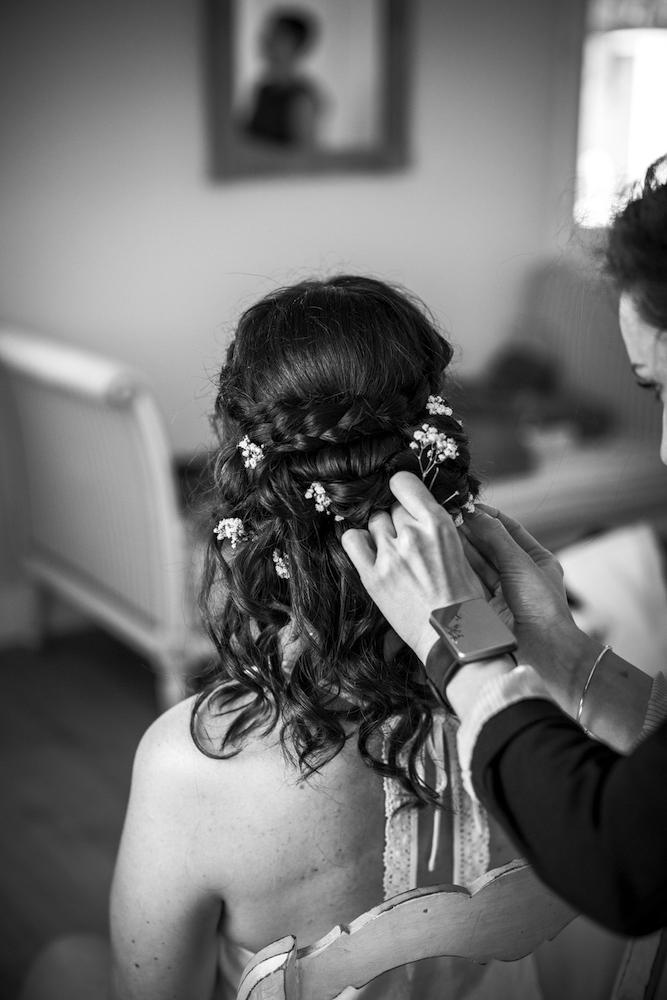 le coeur dans les etoiles - wedding planner - provence - luberon - organisation mariage provence - sebastien ben duc kieng - coiffure mariee