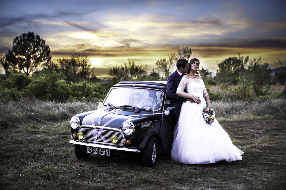 le coeur dans les etoiles - wedding planner - provence - luberon - organisation mariage provence - sebastien ben duc kieng - couple au coucher de soleil
