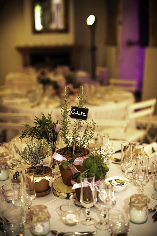 le coeur dans les etoiles - wedding planner - provence - luberon - organisation mariage provence - sebastien ben duc kieng - deco de table