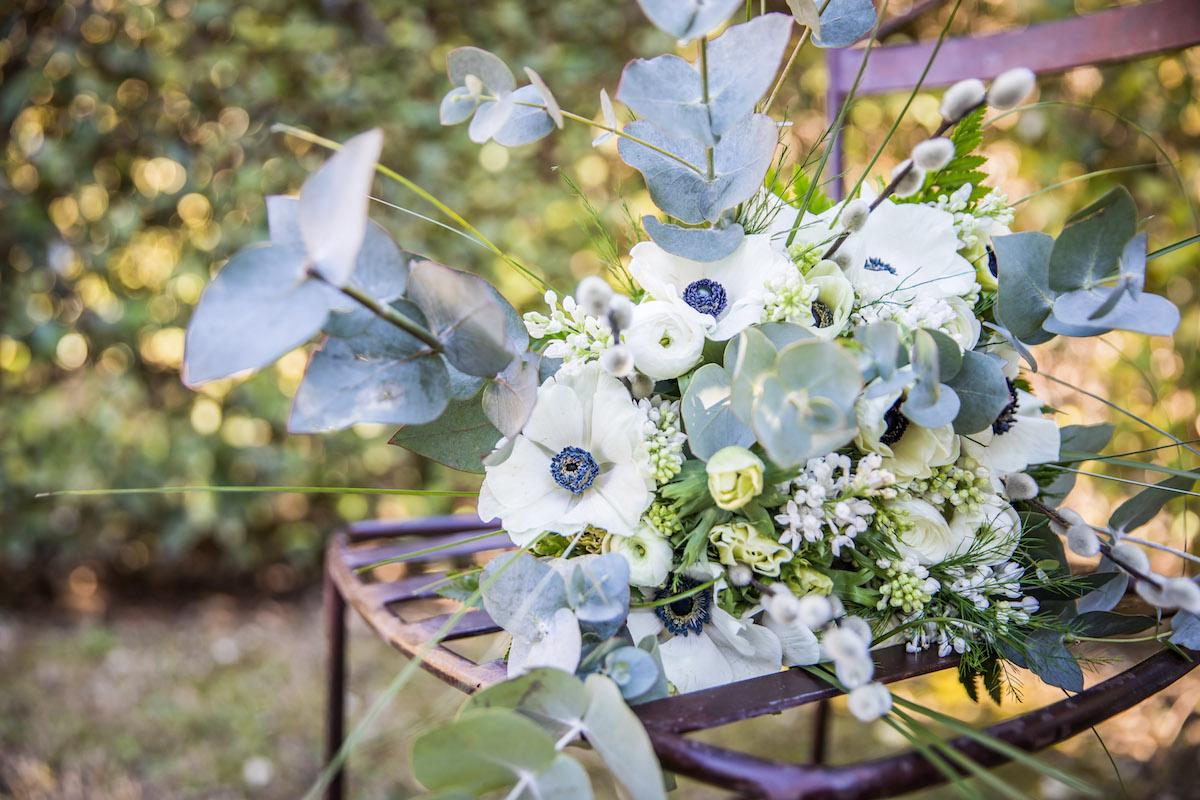 le coeur dans les etoiles - wedding planner provence - luberon - organisation - mariage - mariage d hiver - alexandre lorig - bouquet mariee