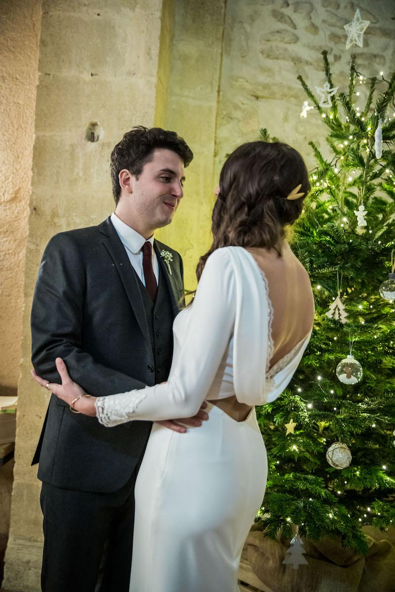 le coeur dans les etoiles - wedding planner provence - luberon - organisation - mariage - mariage d hiver - alexandre lorig - couple sapin