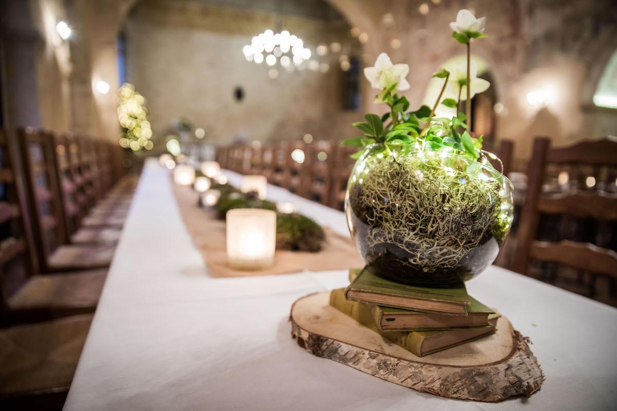 le coeur dans les etoiles - wedding planner provence - luberon - organisation - mariage - mariage d hiver - alexandre lorig - deco hiver
