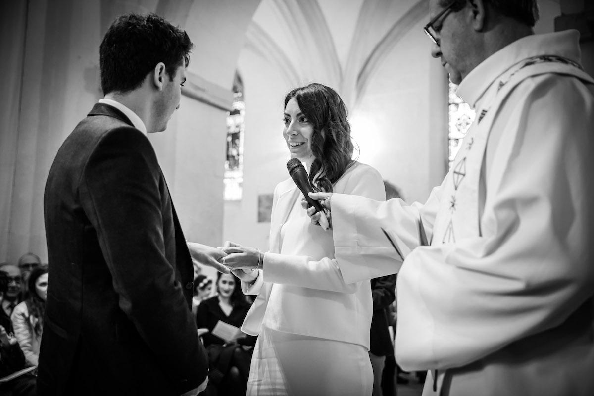 le coeur dans les etoiles - wedding planner provence - luberon - organisation - mariage - mariage d hiver - alexandre lorig - echange voeux eglise