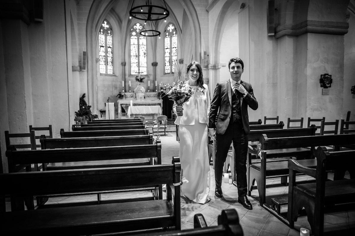 le coeur dans les etoiles - wedding planner provence - luberon - organisation - mariage - mariage d hiver - alexandre lorig - eglise