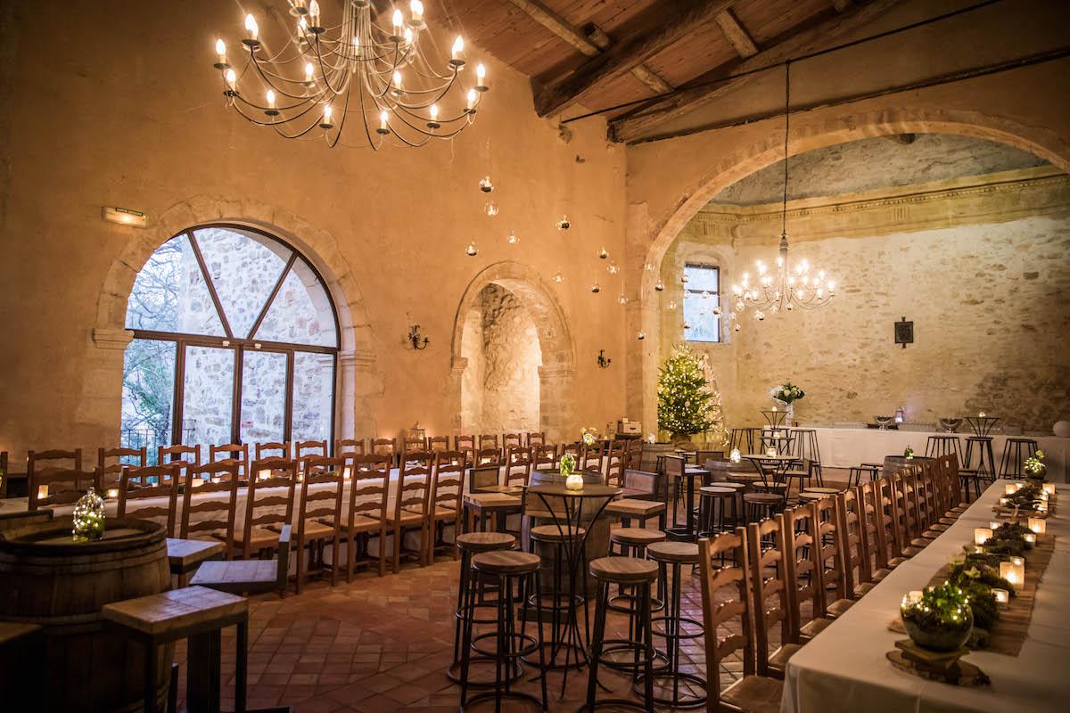 le coeur dans les etoiles - wedding planner provence - luberon - organisation - mariage - mariage d hiver - alexandre lorig - salle reception