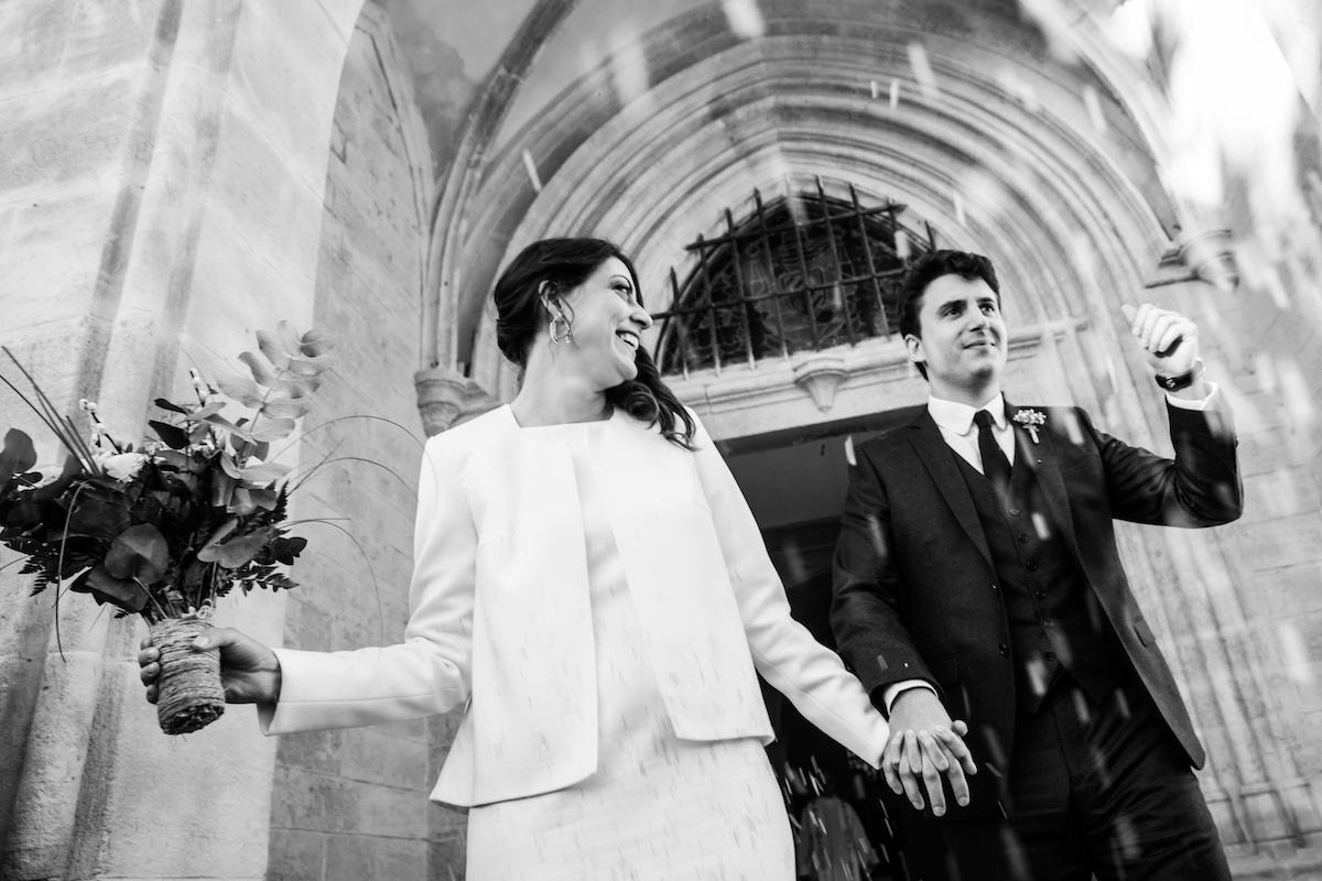 le coeur dans les etoiles - wedding planner provence - luberon - organisation - mariage - mariage d hiver - alexandre lorig - sortie eglise