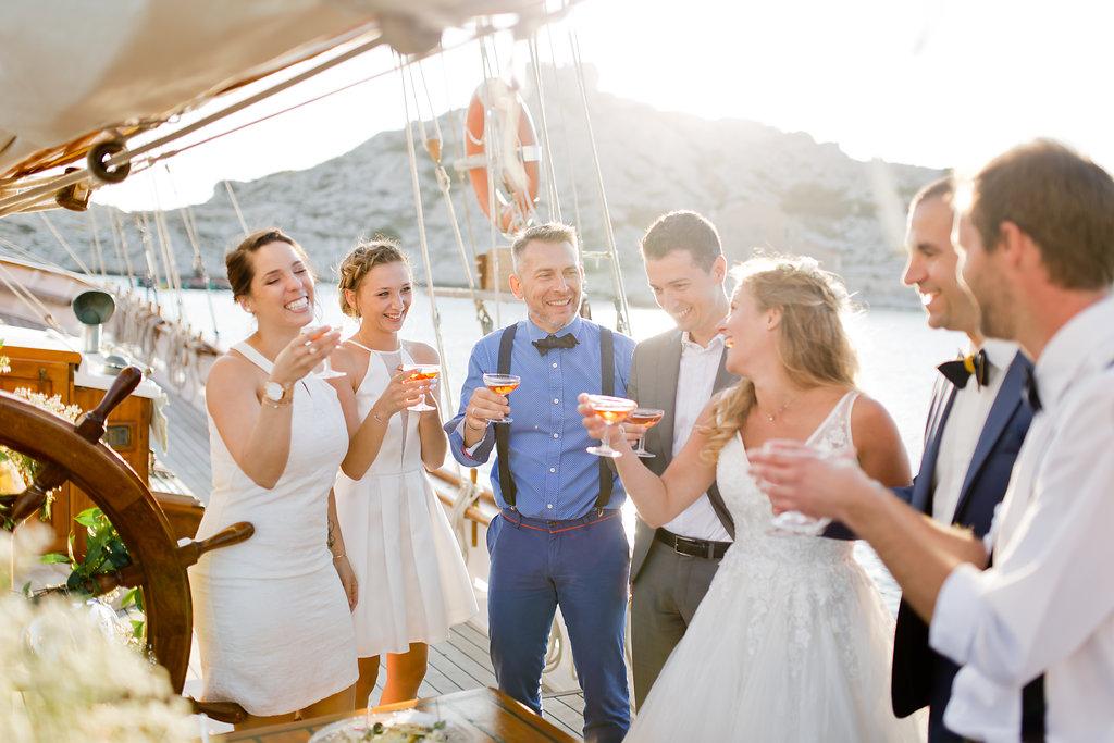 le coeur dans les etoiles - wedding planner - provence - sardaigne - shooting inspiration - mariage voilier - audrey carnoy - cocktail festif 1