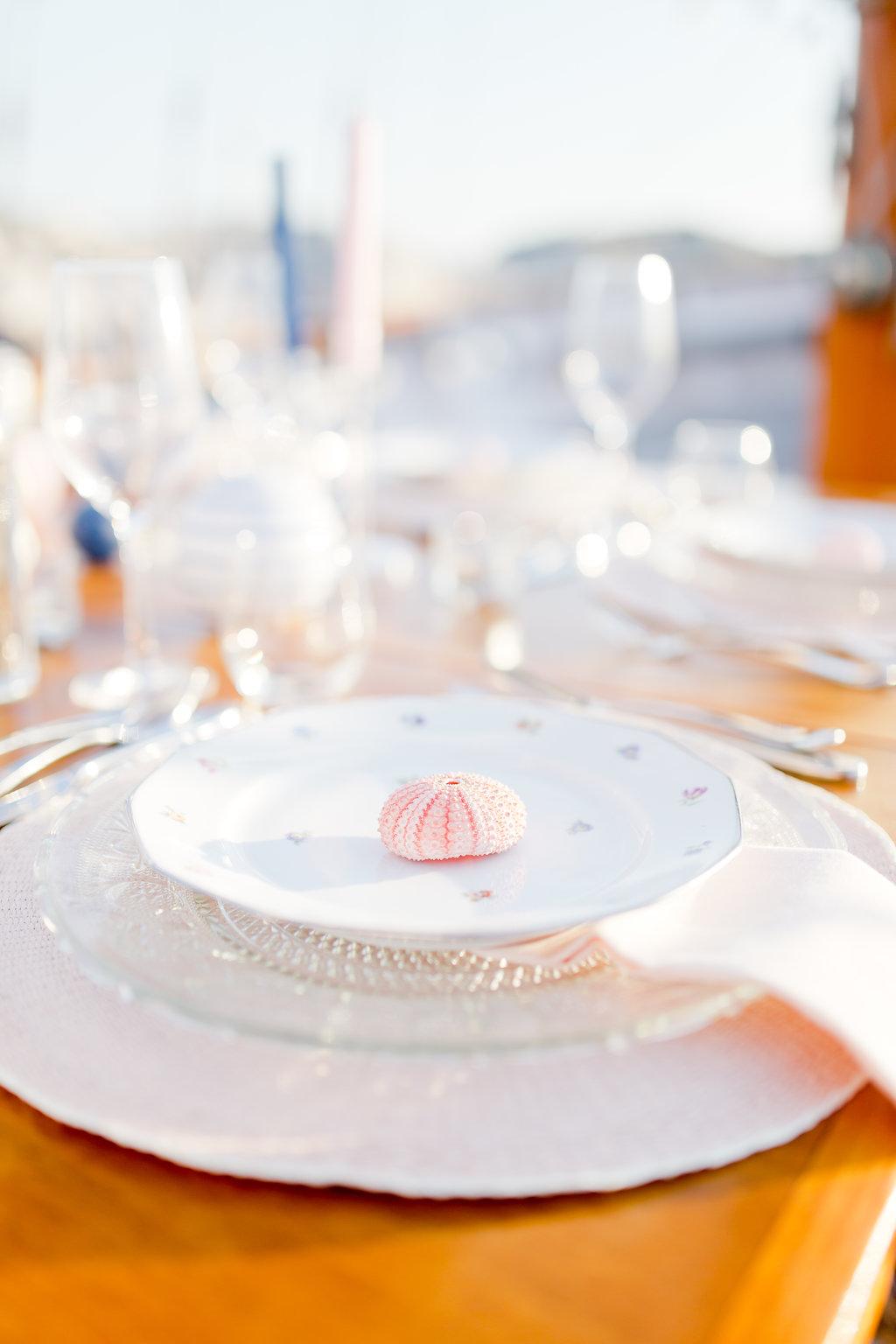 le coeur dans les etoiles - wedding planner - provence - sardaigne - shooting inspiration - mariage voilier - audrey carnoy - deco table 4