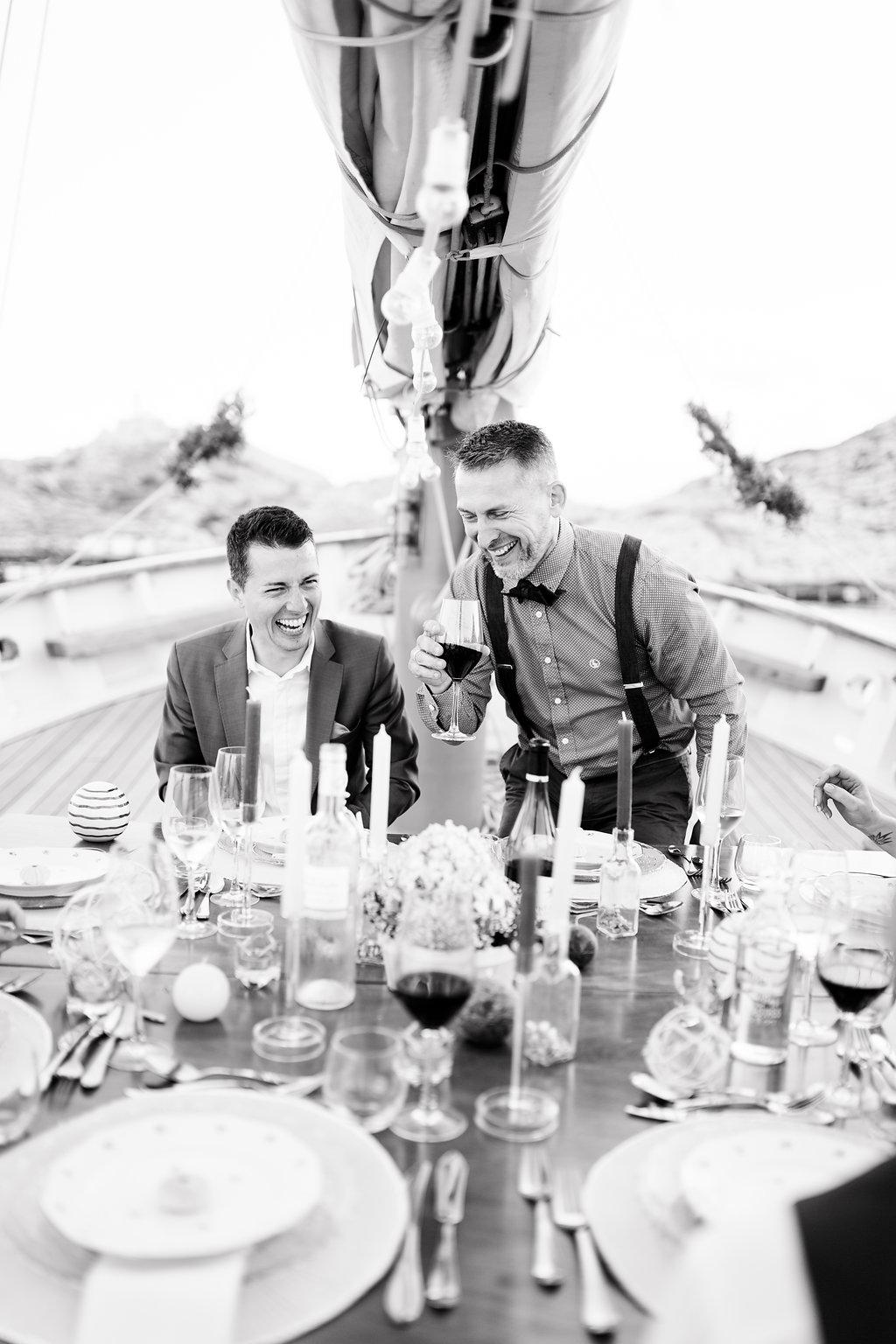 le coeur dans les etoiles - wedding planner - provence - sardaigne - shooting inspiration - mariage voilier - audrey carnoy - diner 2