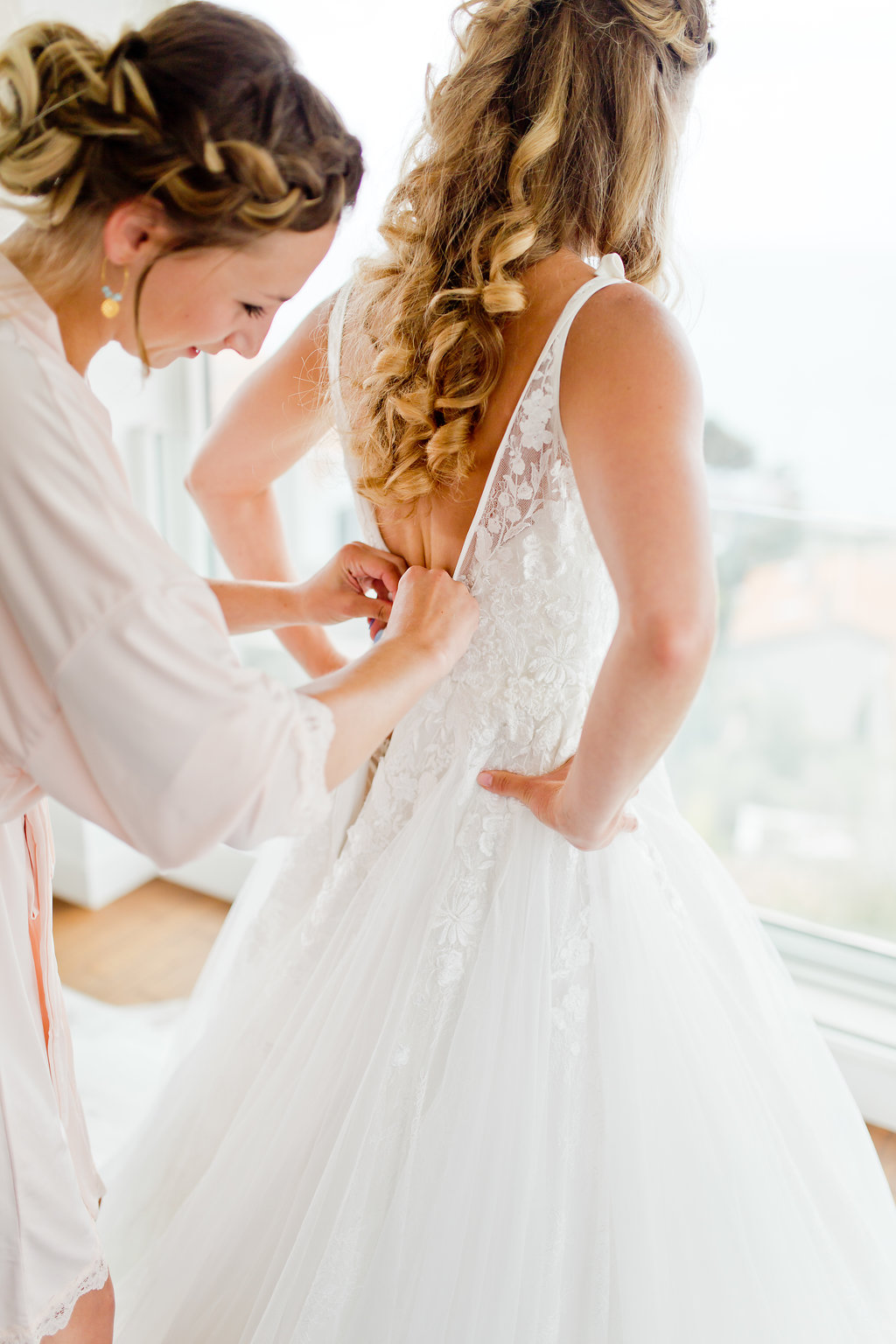 le coeur dans les etoiles - wedding planner - provence - sardaigne - shooting inspiration - mariage voilier - audrey carnoy - habillage mariee 1
