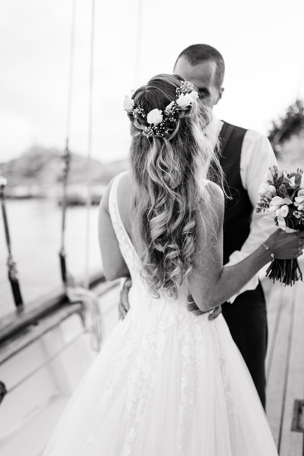 le coeur dans les etoiles - wedding planner - provence - sardaigne - shooting inspiration - mariage voilier - audrey carnoy - photo couple 5