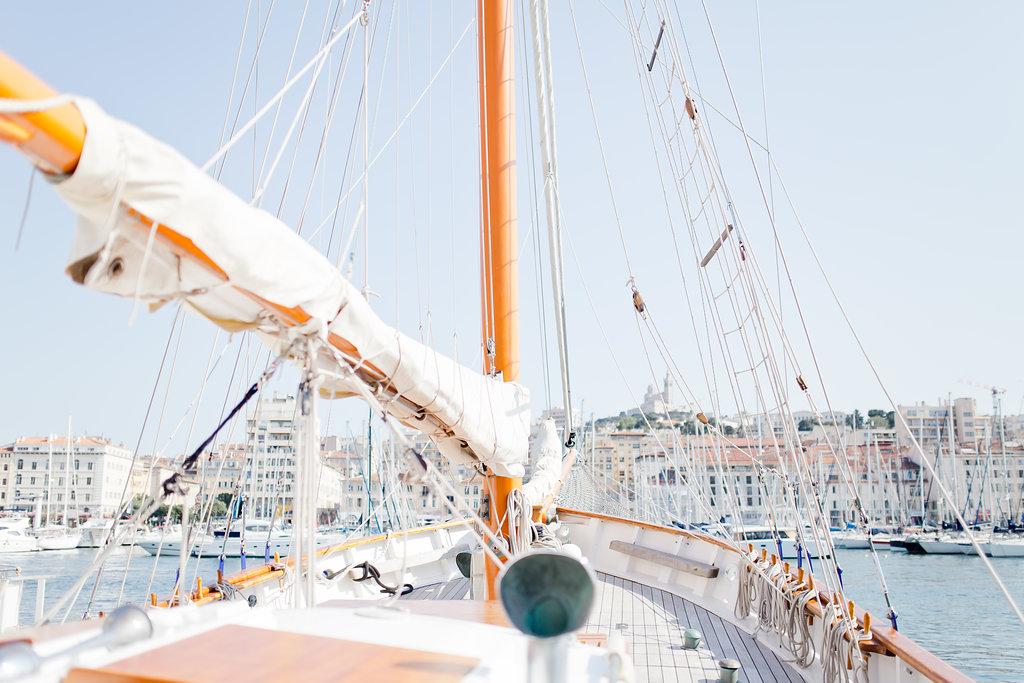 le coeur dans les etoiles - wedding planner - provence - sardaigne - shooting inspiration - mariage voilier - audrey carnoy - voilier 2