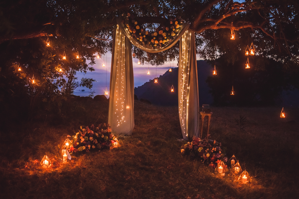 le coeur dans les etoiles - wedding planner - luberon - provence - sardaigne - organisation mariage - ceremonie laique - mariage de nuit - ceremonie nocturne