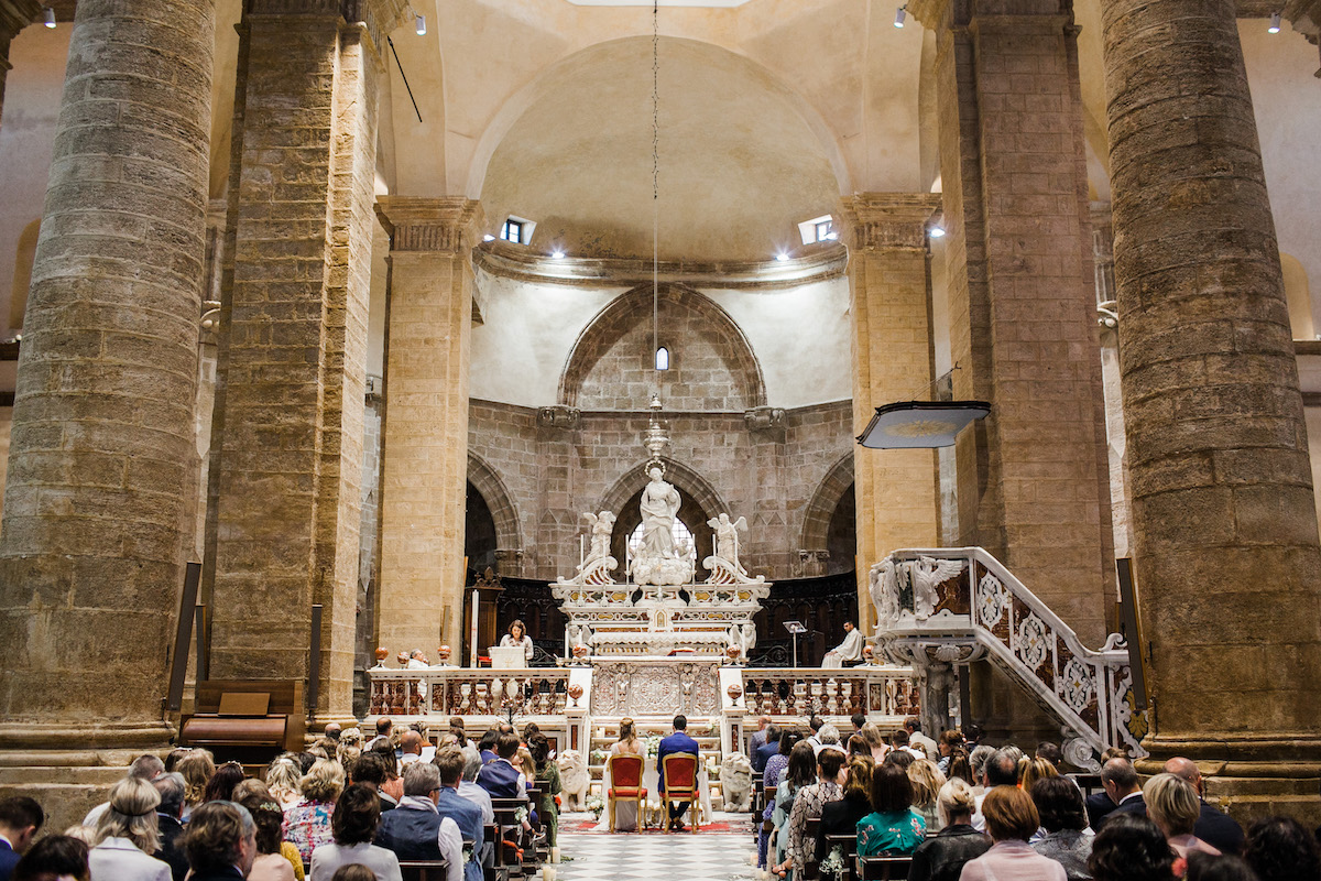 le coeur dans les etoiles - wedding planner - sardaigne - provence - luberon - mariage - organisation - antonio patta - cathedrale alghero