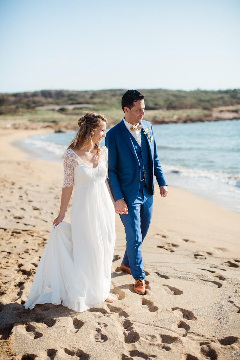 le coeur dans les etoiles - wedding planner - sardaigne - provence - luberon - mariage - organisation - antonio patta - couple plage