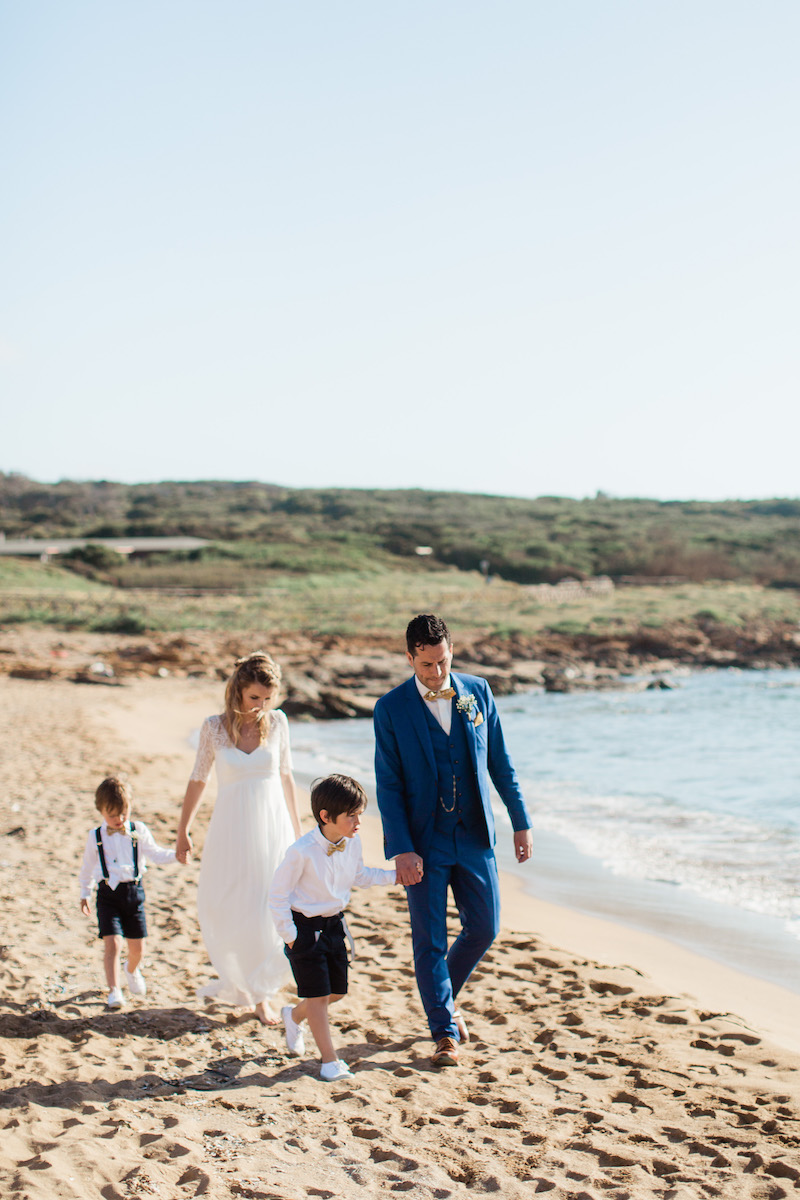 le coeur dans les etoiles - wedding planner - sardaigne - provence - luberon - mariage - organisation - antonio patta - famille plage