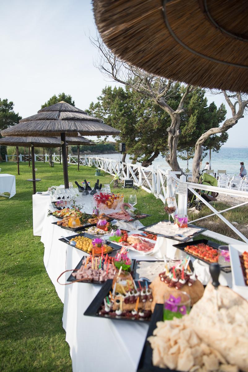 le coeur dans les etoiles - wedding planner - sardaigne - italie - luberon - provence - mariage sardaigne - tania mura - buffet aperitif