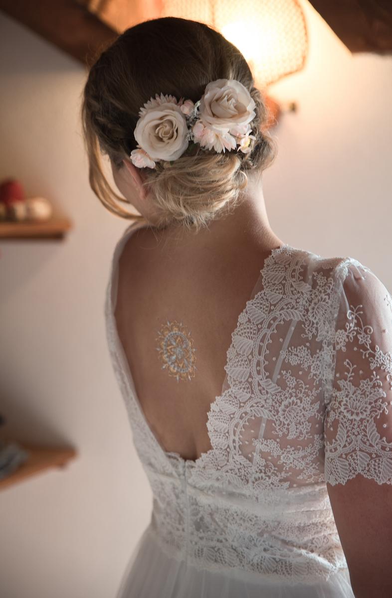 le coeur dans les etoiles - wedding planner - sardaigne - italie - luberon - provence - mariage sardaigne - tania mura - habillage mariee