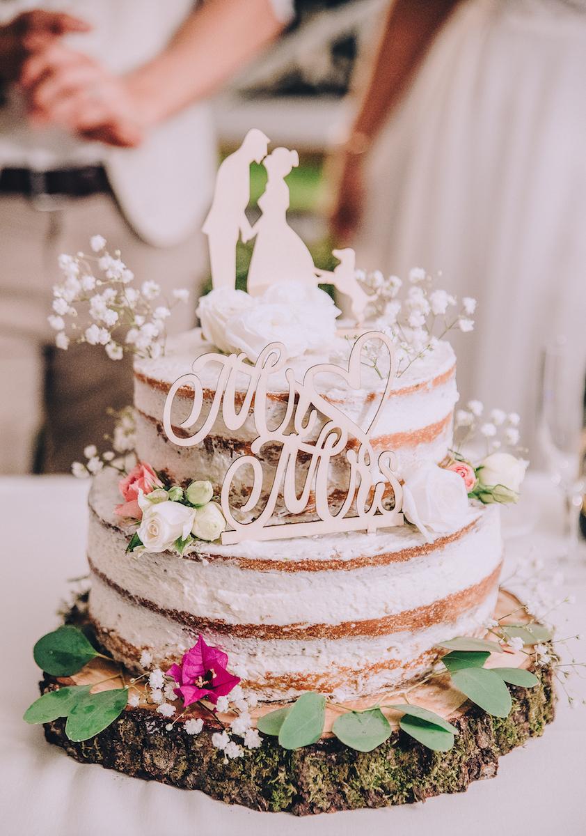 le coeur dans les etoiles - wedding planner - sardaigne - italie - luberon - provence - mariage sardaigne - tania mura - naked cake