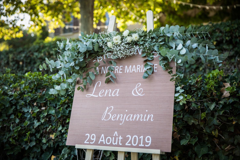 le coeur dans les etoiles - wedding planner - provence - luberon - alpilles - organisation - mariage - wedding - alexandre lorig - panneau bienvenue