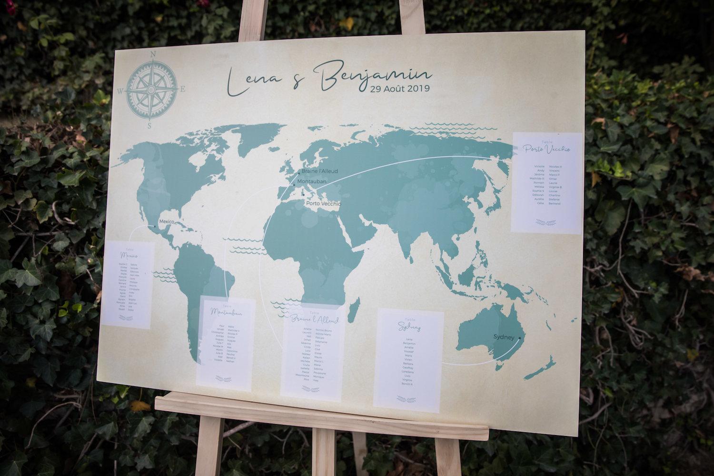 le coeur dans les etoiles - wedding planner - provence - luberon - alpilles - organisation - mariage - wedding - alexandre lorig - plan de table