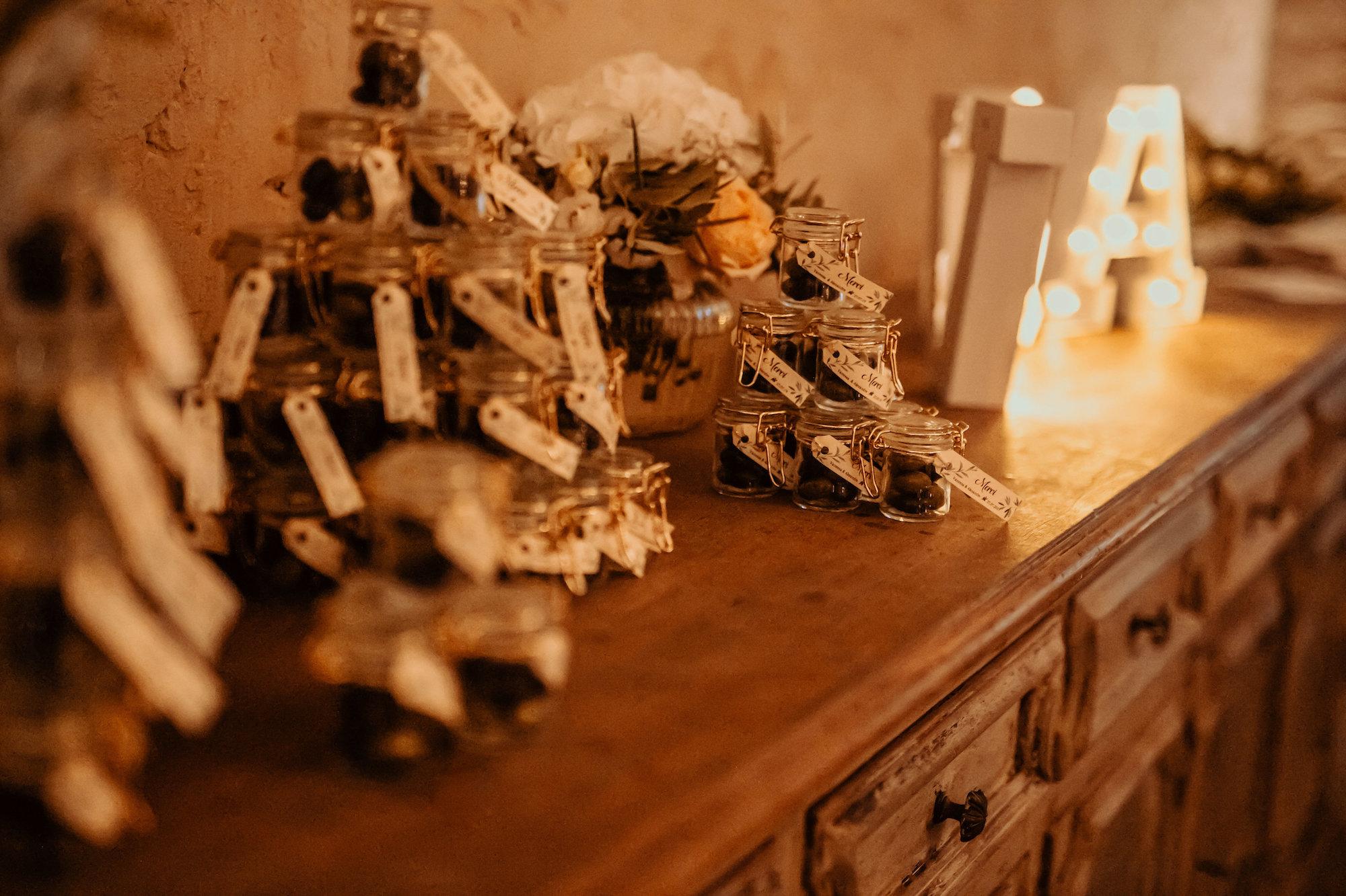 le coeur dans les etoiles - wedding planner - provence - luberon - alpilles - organisation - mariage - wedding - florine jeannot - cadeaux invites