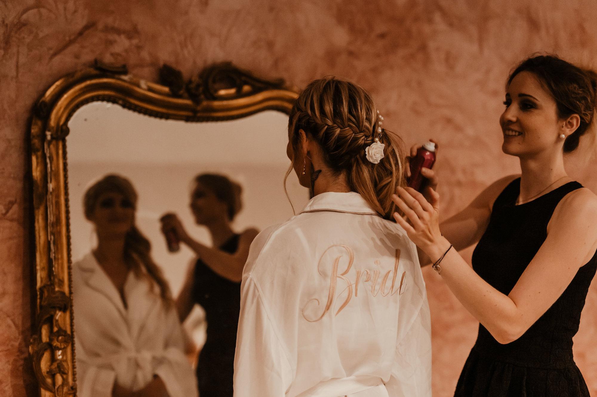le coeur dans les etoiles - wedding planner - provence - luberon - alpilles - organisation - mariage - wedding - florine jeannot - coiffure mariee