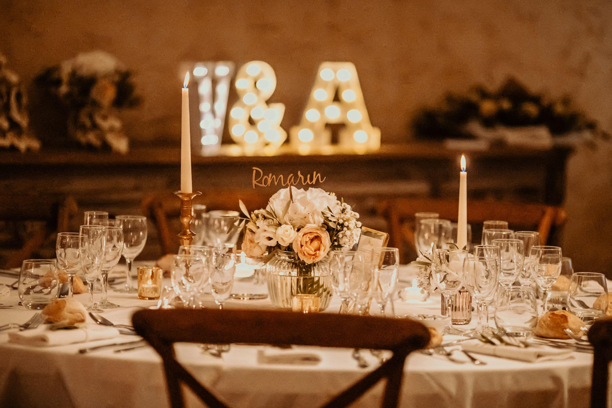 le coeur dans les etoiles - wedding planner - provence - luberon - alpilles - organisation - mariage - wedding - florine jeannot - decoration table