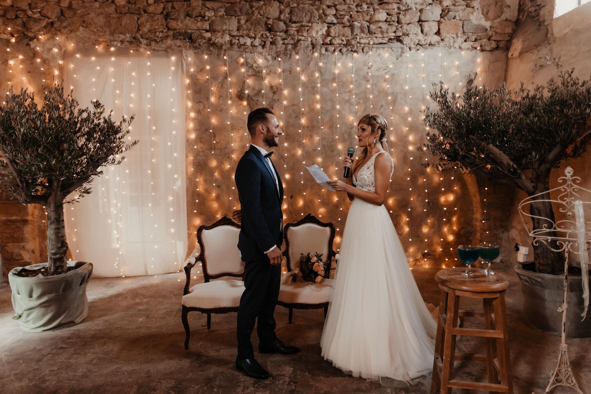 le coeur dans les etoiles - wedding planner - provence - luberon - alpilles - organisation - mariage - wedding - florine jeannot - echange voeux