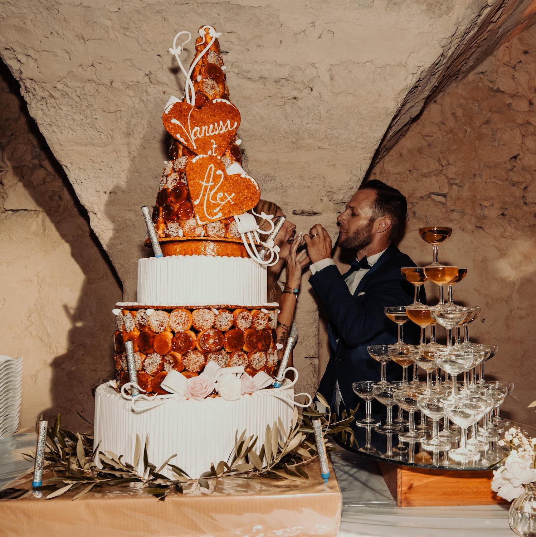 le coeur dans les etoiles - wedding planner - provence - luberon - alpilles - organisation - mariage - wedding - florine jeannot - piece montee