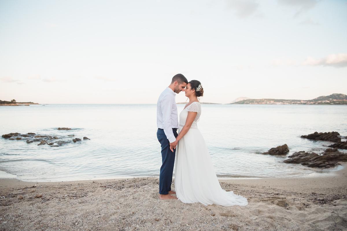 le coeur dans les etoiles - wedding planner - provence - luberon - sardaigne - organisation mariage - tania mura - couple plage 2