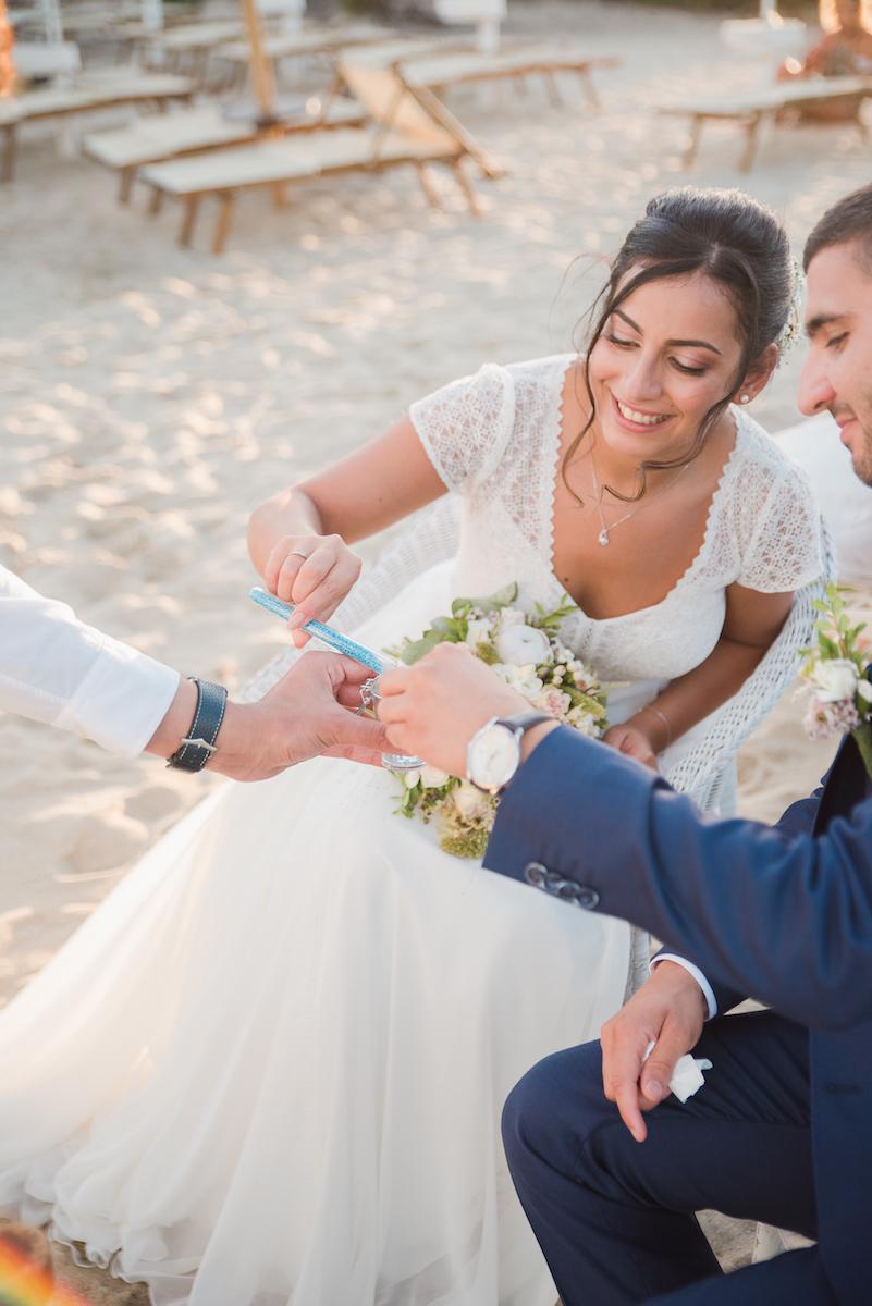 le coeur dans les etoiles - wedding planner - provence - luberon - sardaigne - organisation mariage - tania mura - rituel du sable