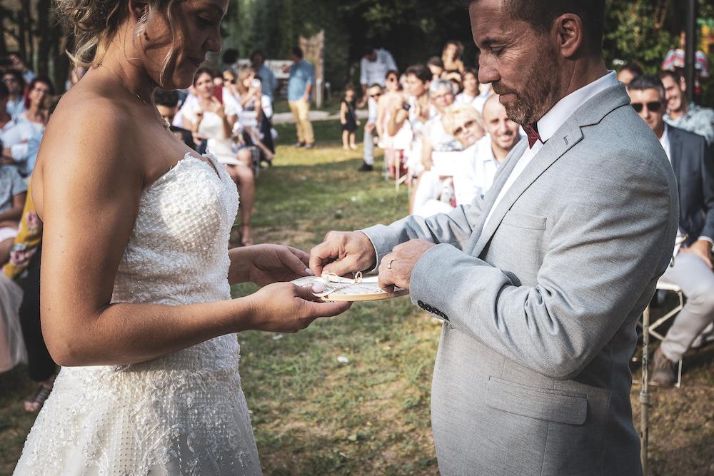 le coeur dans les etoiles - wedding planner - luberon - provence - mariage provence - L&T - sebastien bdk - echange