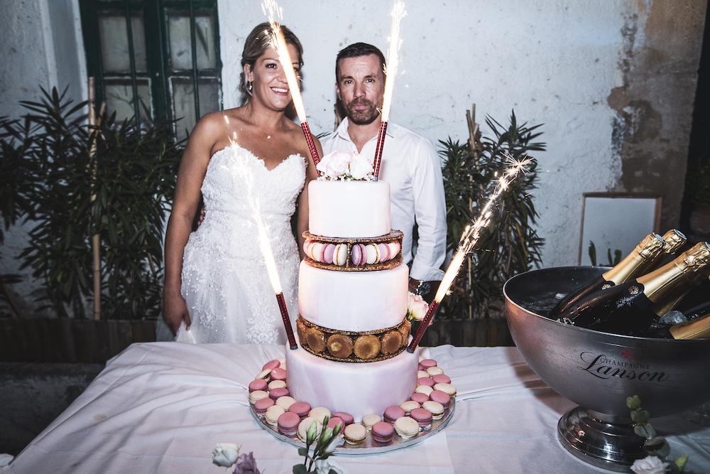 le coeur dans les etoiles - wedding planner - luberon - provence - mariage provence - L&T - sebastien bdk - wedding cake